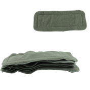 DDLBiz Baby Nappy 4 layers Bamboo Charcoal Inserts Cloth Nappy
