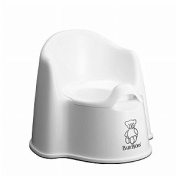 Babybjorn Potty Chair, White 1 Ea