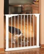Command Pet Pressure Gate, 70cm H/70cm - 80cm W, White