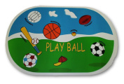 """Sports """"Play Ball"""" Vinyl Placemat Set of 2"""