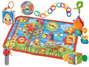 Playgro Playmat Gift Pack, Friends and Fun, 0-24 Months
