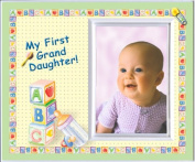 My First Granddaughter Picture Frame Gift