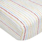 Kidsline Who's At The Zoo Fitted Sheet, Beaded