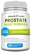 Prostate Night Formula - All Natural Formula that Provides Nutritional Support for Prostate Health - Improves Urinary Flow Rates and Reduces Prostate Inflammation - 60 Capsules