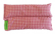 Ultra Premium All Natural Microwavable Aromatherapy Heating Cooling Pad- Flax Seed Cherry Pit Filler - Longer Lasting Heat - Available in Other Colours!