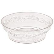 Hanna K. Signature Collection 40 Count D'Vine Bowl, 300ml, Clear Plastic