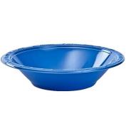 Hanna K. Signature Collection 100 Count Plastic Bowl, 350ml, Blue
