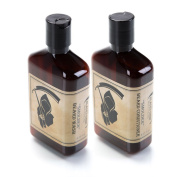 """~Beard Care Combo~ Beard Wash and Beard Conditioner Combo """"Smoulder"""" Scent - by The Blades Grim"""