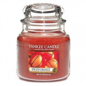 Yankee Candle Small Jar Candle, Spiced Orange