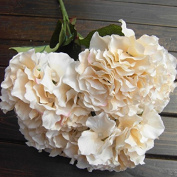 Mustbe Artificial Hydrangea Flower 5 Big Heads Bounquet (Diameter 18cm each head) 7 Colours Avaliable