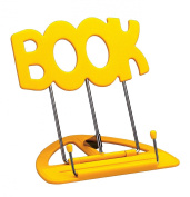 K & M 12440-012-61 UNI-BOY BOOK STAND YELLOW Music stands