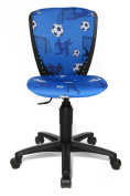 Topstar 70570CA40E S'cool 3 Kids and Youths Swivel Chair with Height Adjustable Spinal Column Support - Multicoloured