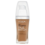 L'Oreal Paris True Match Foundation - 30 ml, Golden Amber