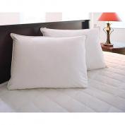 Hotel Style Hypoallergenic Down Alternative Value Pillow - Medium/ Firm Density - 230 Thread Count - Jumbo 50cm x 70cm - Sham Stuffer