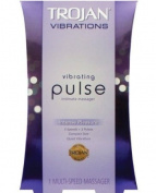 Trojan Vibrations Vibrating PULSE Intimate Massager - 6 Settings, 3 Speeds and 3 Pulse Patterns