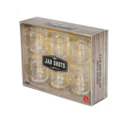 Thumbs Up Thumbs Up! Shot Glass Jar, Clear