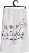 """Primitives By Kathy Kitchen Towel - """"Drink Up Witches"""""""