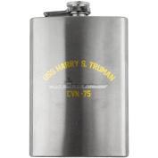 Navy Carrier Harry S. Truman CVN 75 240ml Flask