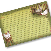 10cm X 15cm Recipe Card - Chickens Out!