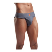 Omtex Sports Neo Athletic Supporter with Cup Pocket Grey