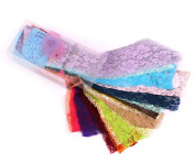 Colour Sample Pack Stretch Lace 5.1cm
