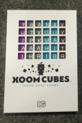 Xoom Cubes White by BAXBO Word Race Dice Game Pack B (Pastel Colours) Second Edition