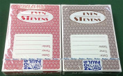 Even Stevens Casino 2 decks of new playing cards