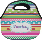 Ribbons Personalised Lunch Bag - Large