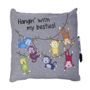 Camp Autograph Pillows Hanging with my Besties