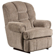MFO Big and Tall 160kg. Capacity Gazette Pewter Microfiber Recliner