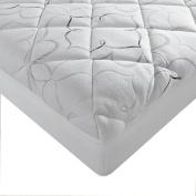Sleep Innovations Instant Pillow Top - Memory Foam and Fibre Hybrid Mattress Topper, Cal King