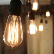 Heavy Duty Vintage Bushwick ST18 Filament 10-Bulb Connectable String Lights