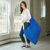 Carry Laundry Bag From Handy Laundry with Shoulder Strap, Large Size 80cm X 100cm , Commercial Grade 100% Nylon and Made in the USA - Designed for Heavy Duty Use - College Laundry Bag - Trips to Laundromat - Household Storage