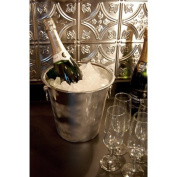 Stainless Steel Table Top Wine or Champagne Bucket - Set of 6