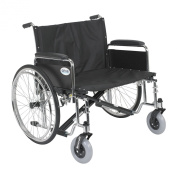 Extra Wide Wheelchair 70cm /Detachable Full Arms