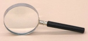 SEOH Magnifying Glass Metal Mount Plastic Handle 7.6cm