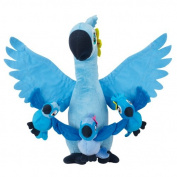 Rio 2 Movie 30cm Plush Jewel with Kids [Carla, Bia & Tiago]
