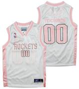 Houston Rockets NBA Girl's Replica Pink Jersey