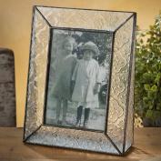 J Devlin Photo Frame 4x6 Vertical Vintage Glass