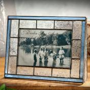J Devlin Photo Frame 4x6 Horizontal Vintage & Pale Blue