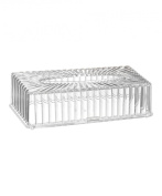 Saganizer Acrylic tissue box cover very clear tissue box, beautiful designed tissue holder