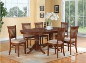 East West Furniture VANC7-ESP-C 7-Piece Dining Table Set