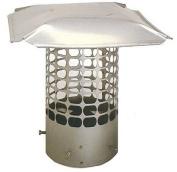 25cm Masonry Round Stainless Steel 3/4 Mesh Cap