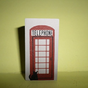 Cat's Meow Village ** Telephone Booth ** #120
