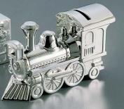 Train Bank, Nickel Plated.