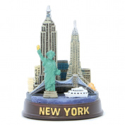 3D New York City Model Replica and New York City Souvenir Skyline Design