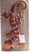 Regal Art & Gift Gecko Wall Decor, 46cm , Copper