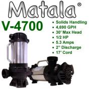 Matala Versiflow V-4700 MKH-400 4690GPH Pump