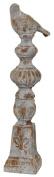 Privilege International 66490 Ceramic Oversized Bird Finial