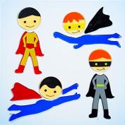 Design Ideas GelGems Window Clings, Super Heroes, Large Bag